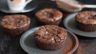 Pénteki süti: brownie muffin iskolakezdéshez