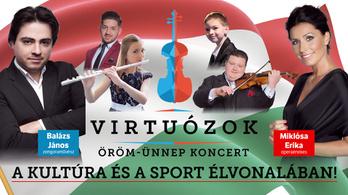 Örömünnep koncertet adnak a Virtuózok