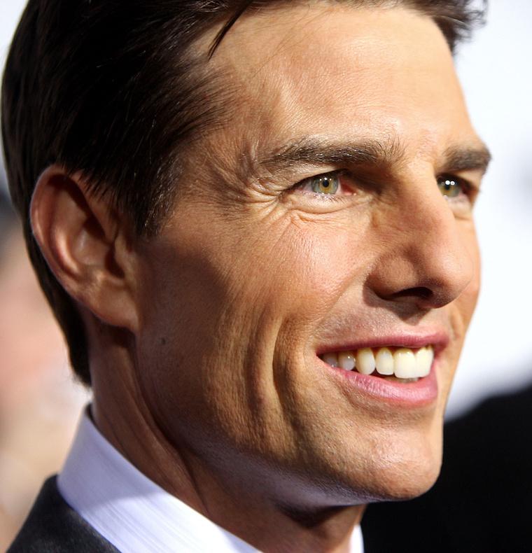Ez az igazi, vagy a viasz Tom Cruise?