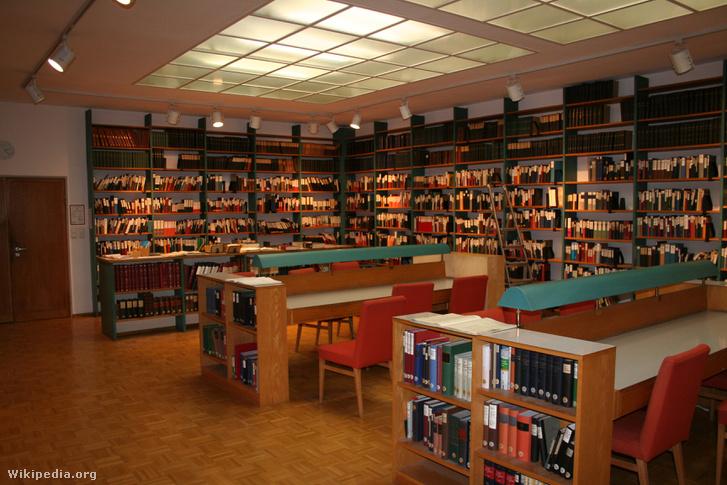 A Thesaurus Linguae Latinae könyvtára