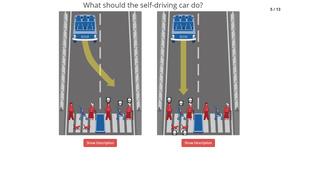 Döntse el, ki haljon meg egy balesetben!