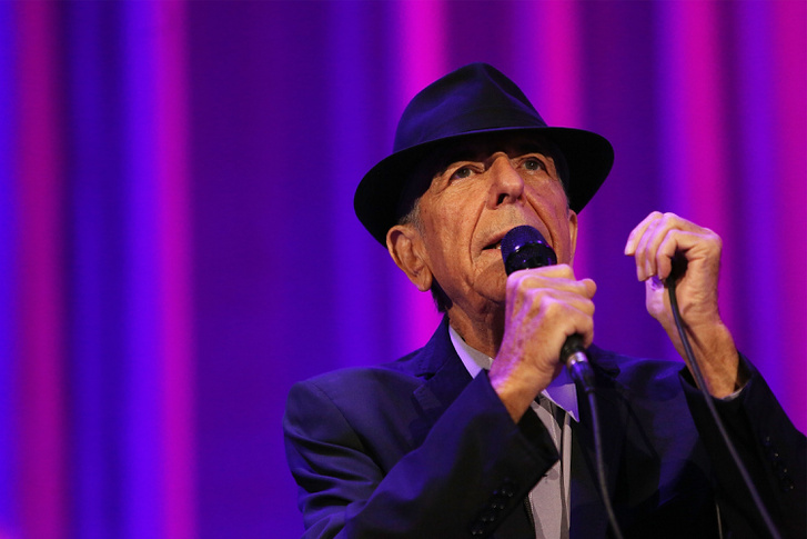 Leonard Cohen 2013-ban