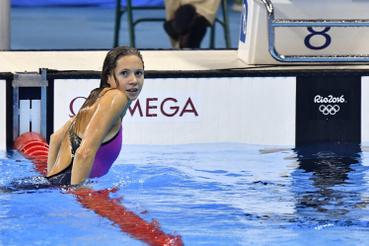 Kapás Boglárka a 800 méteres gyors úszás fináléjában sokáig haladt a második helyen, ahol az amerikai Katie Ledecky bődületes világcsúccsal nyert.