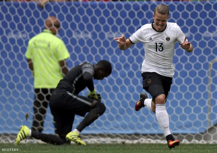 A német Philip Max gólöröme Portugália ellen