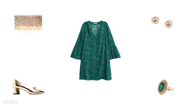 Táska - 15 font (Asos), ruha - 5990 Ft (H&M), fülbevaló - 6 font (Topshop), cipő - 9995 Ft (Zara), gyűrű - 4,99 font (New Look)