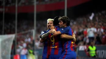 A Barca simán behúzta a szuperkupa első meccsét
