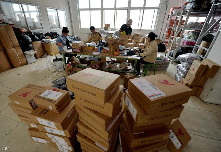 Az Alibaba az online-webáruházak piacán tarolt.