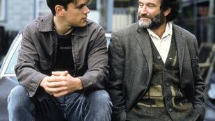 Matt Damon a két évvel ezelőtt elhunyt Robin Williamsre emlékezett