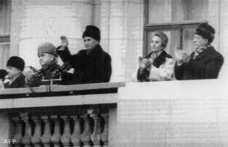 Ceausescu utolsó beszéde 1989. december 21-én
