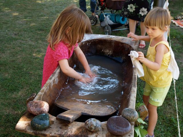 Alíz babajátszó mosás