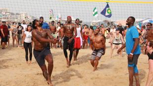 Az amerikai kosarasok rákattantak a strandröplabdára Rióban