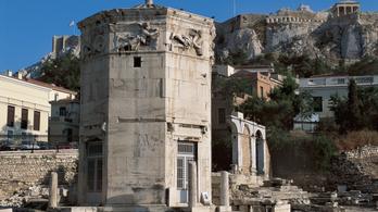 Látogatható az athéni Szelek tornya