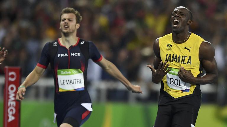 Usain Bolt olimpiai bajnok lett utolsó egyéni futásán is