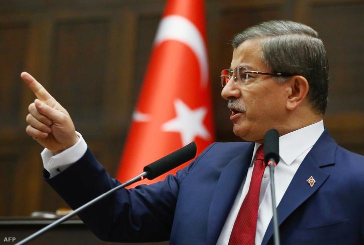 Mevlüt Çavuşoğlu török külügyminiszter