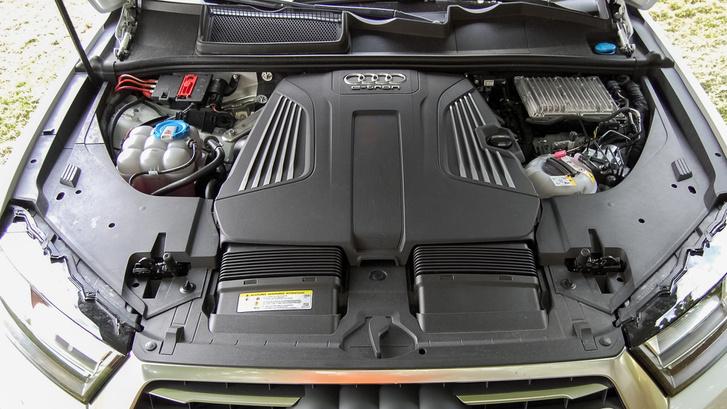 A 3 literes tdi motor a hibrid üzem sok ponton módosult