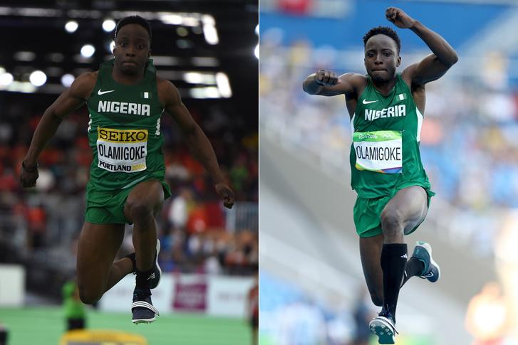 Olu Olamigoke a márciusi vb-n és az olimpián