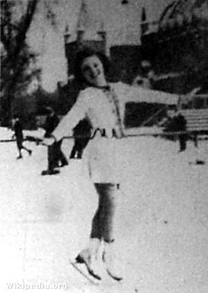 Saáry Éva skater