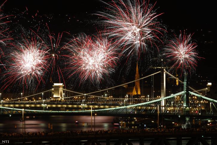 A 2015-ös tűzijáték.