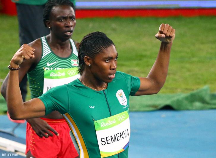 Semenya simán hozta a női 800 métert