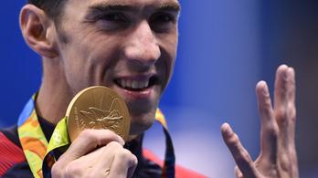 Riói toplista: Phelps mindenkit ver, Hosszú lenyomta Boltot