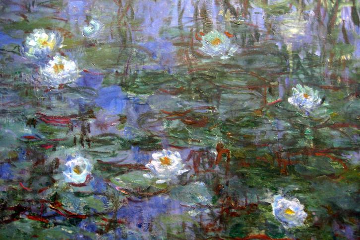 Claude Monet: Nymphéas bleus