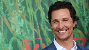 Matthew McConaughey-nak van egy Youtube-csatornája, és ezt eddig nem tudta