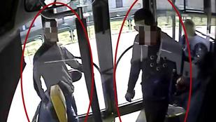 Szabadulása után emberkedett a 214-es buszon az egyik férfi