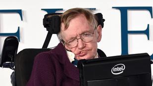 Stephen Hawking sehol sincs a valaha élt 40 legokosabb ember között