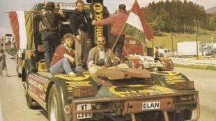 Elfelejtett úttörők voltak az első magyar kamionversenyzők
