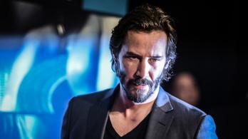 Ismét sci-fit forgat Keanu Reeves