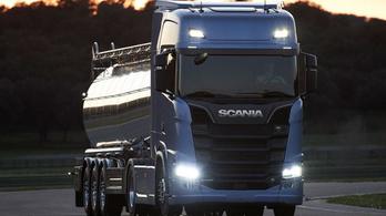 Bemutatták az új Scania csúcsmodelleket