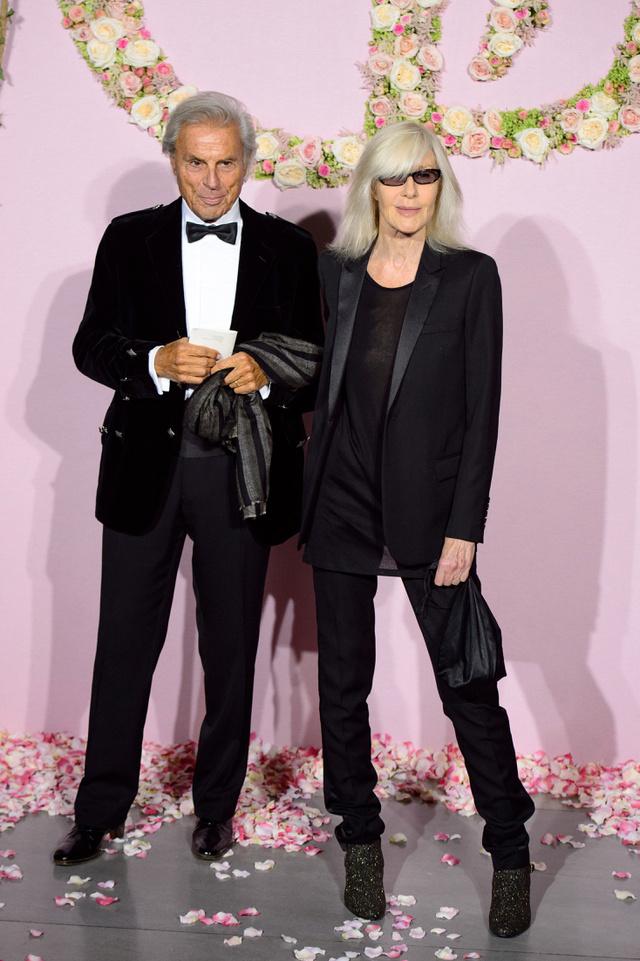 Francois és Betty Catroux tavaly a párizsi operában.