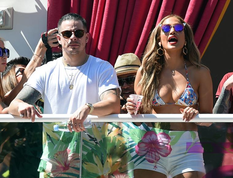 Jennifer Lopez és Casper Smart, amikor még minden rendben volt