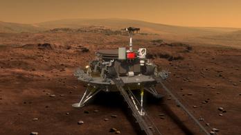 Kína bemutatta a Mars-járóját