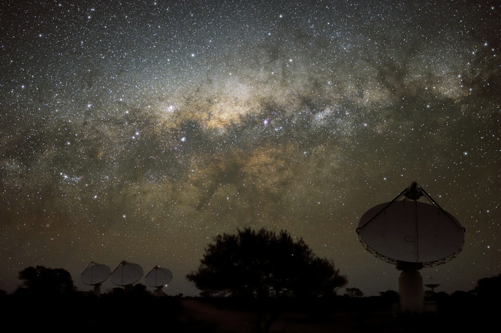 Ausztráliában felállított antennák