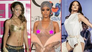 Rihanna 11 év alatt, énekléssel és kevés vetkőzéssel érte el az életműdíjat