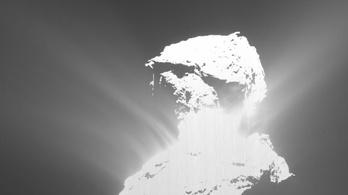 Látványos katasztrófát fotóztak le egy üstökösön