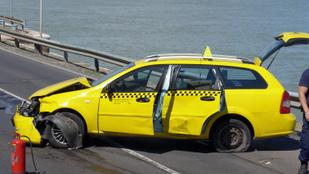 Előzetesbe került a rakpartig menekülő taxis hiéna