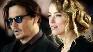 Őrület: újabb balhé a Depp-Heard válás körül