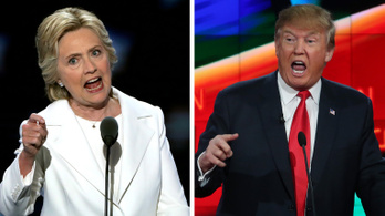 Bekeményített Clinton és Trump