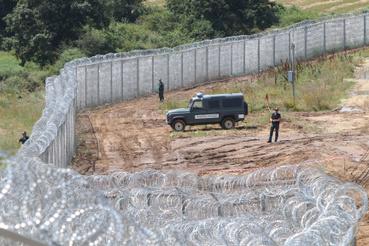 Kerítés a bolgár-török határon
