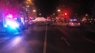 Halálos baleset történt az éjjel Budapesten