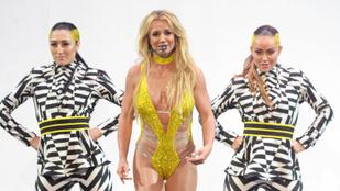 Britney Spears úgy lépett színpadra, mintha megint 20 éves lenne