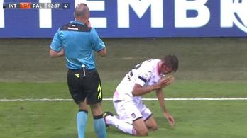 Baloghot KO-zta az Inter védője