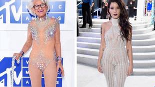 MTV VMA: kinek áll jobban a pucérruha?