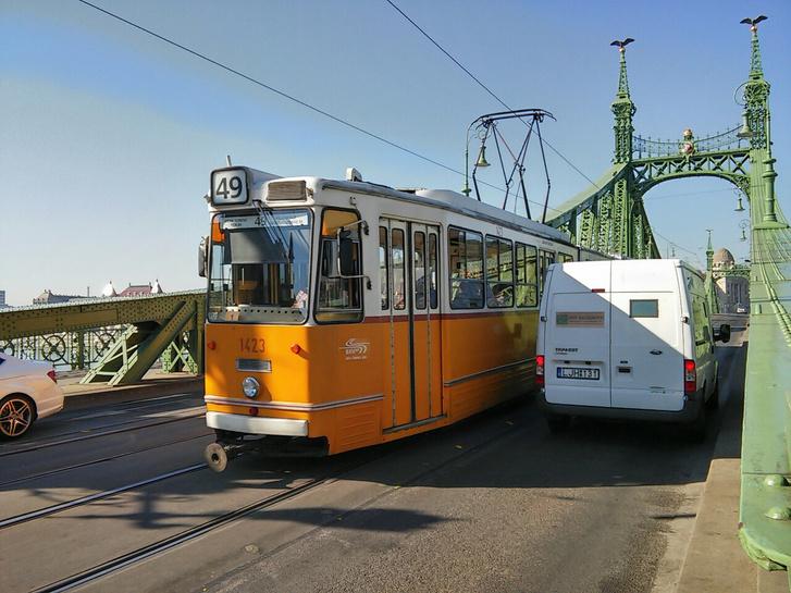 A Szabadság híd augusztus 29-én
