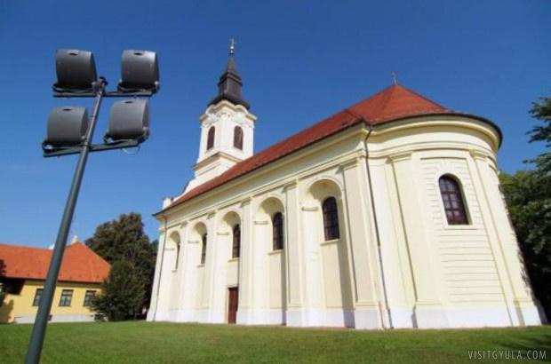 A Szent Miklós ortodox templom.
