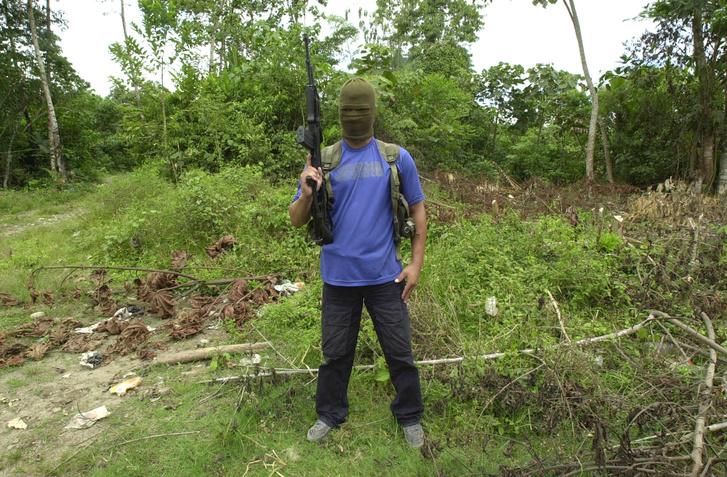 FARC gerilla.