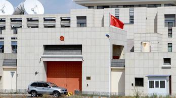 Autó robbant fel Kína kirgizisztáni követségénél