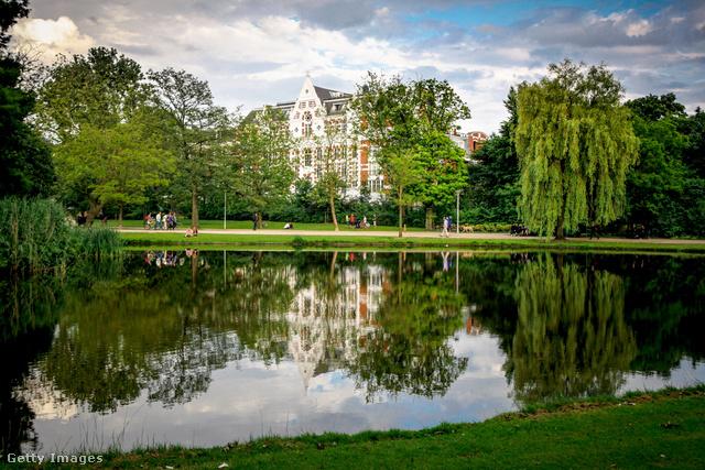 Amszterdam bájos, nyugodt arca: Vondelpark
